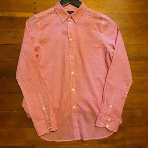NWOT: J. Crew Pink Gingham Shirt